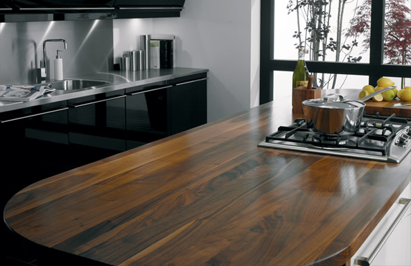 Hardwood Kitchen Worktops